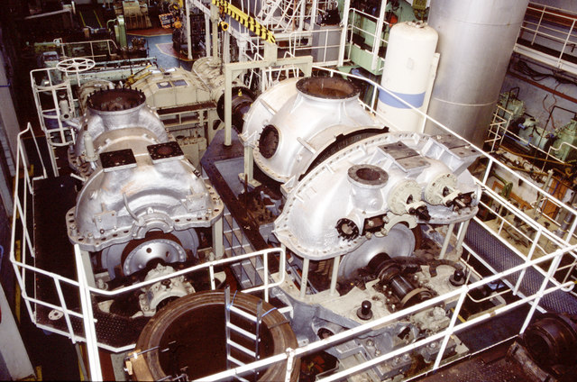 South Tyneside College - steam turbine