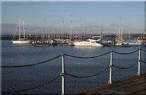 NT1278 : Port Edgar Marina by Anne Burgess