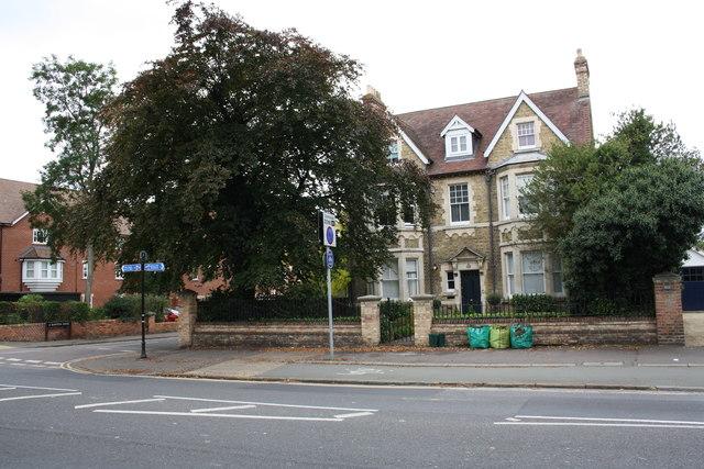#251 Woodstock Road at Bainton Road junction