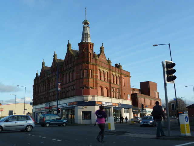 Building at the junction of Old Church Street and Oldham Road, Newton Heath