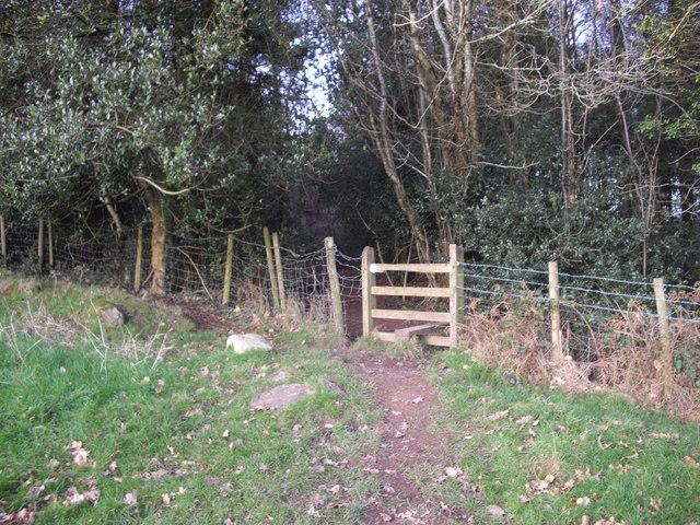 Stile on the Sirhowy Valley Walk, Coed Bedw