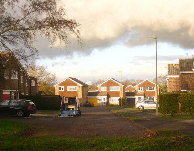 Houses in Heron Way