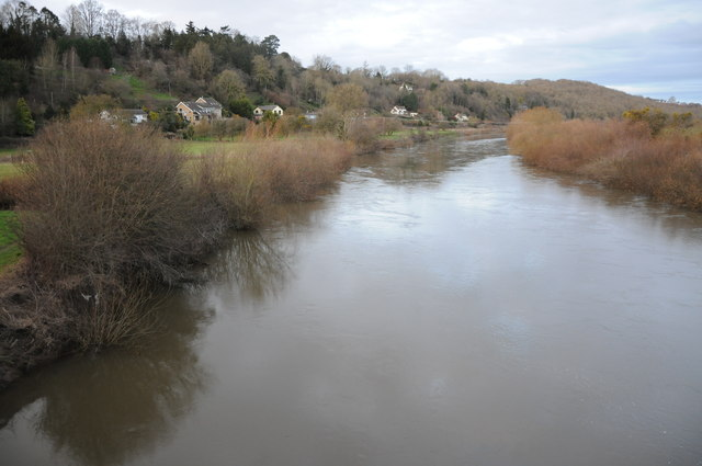 River Wye at Hoarwithy