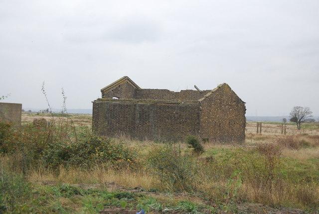 Derelict munitions building