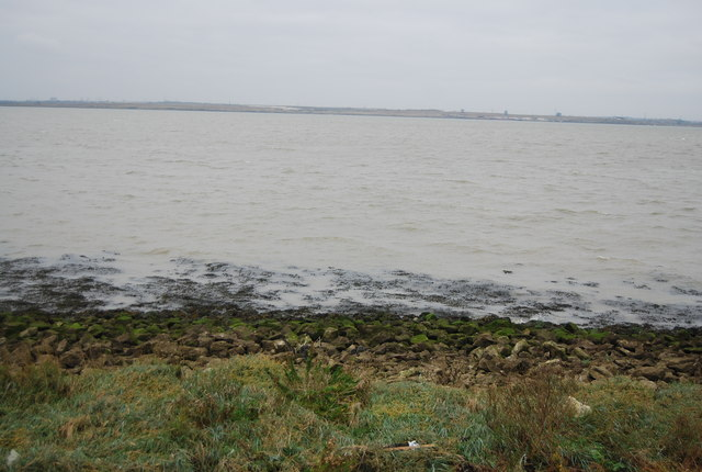 The Thames Estuary at Lower Hope Point