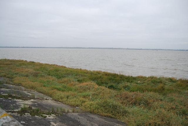 The Thames Estuary near Lower Hope Point
