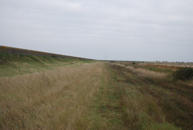 Path by the sea wall