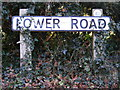 TM2952 : Lower Road sign by Adrian Cable