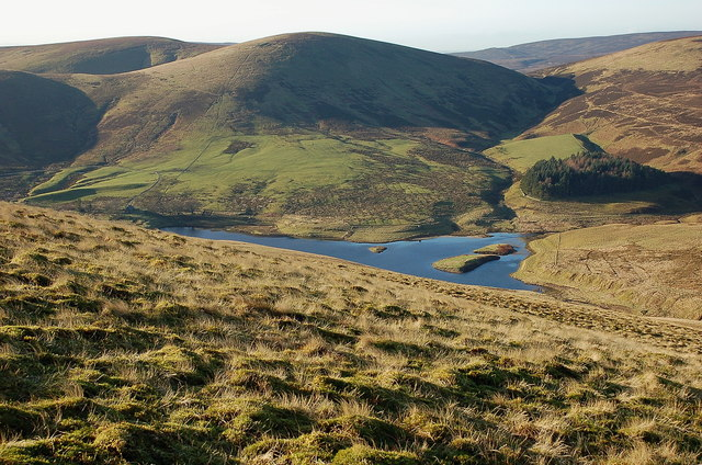 North Esk Reservoir from Spittal Hill