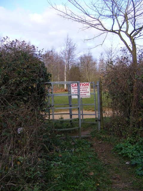 Kissing Gate of the footpath to Lower Road