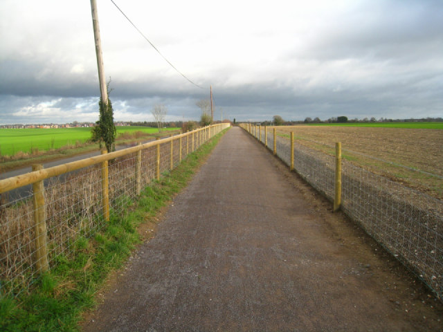 New cycleway by Pack Lane