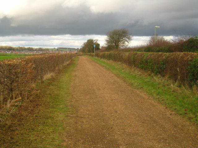 Broad cycle path