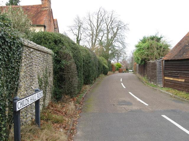 Childs Hall Road, Preston Cross