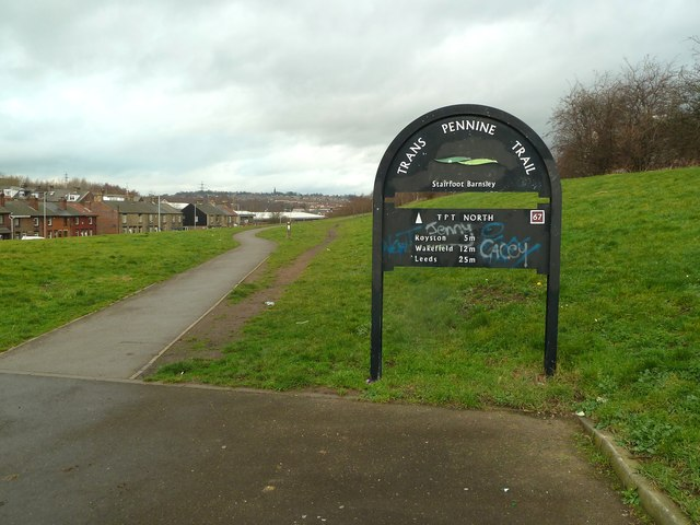 Trans Pennine Trail at Stairfoot