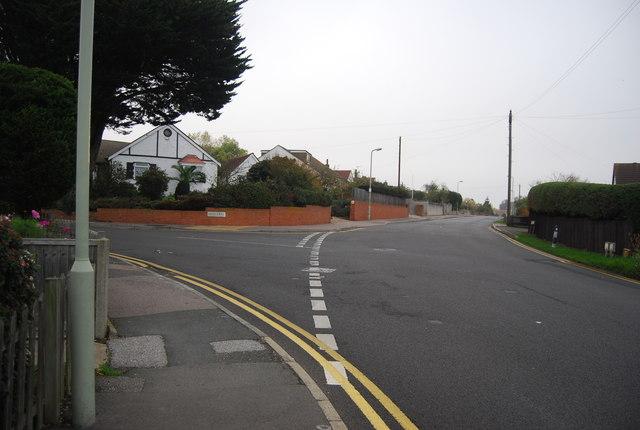 Mill Lane, School Lane junction