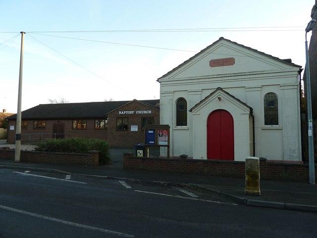 Union Chapel and Baptist Church, Caddington