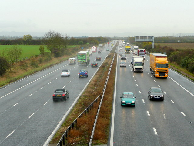 M5 looking south