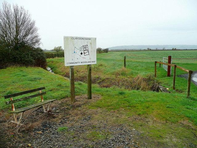 Claydon Farm Community Woodland
