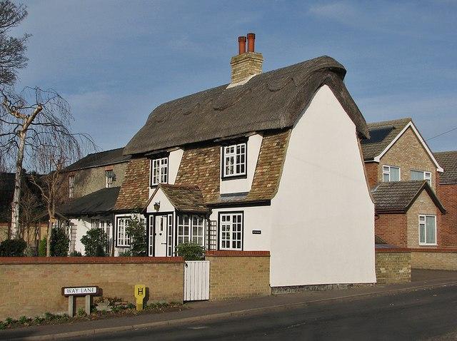 Waterbeach: cottage on Way Lane