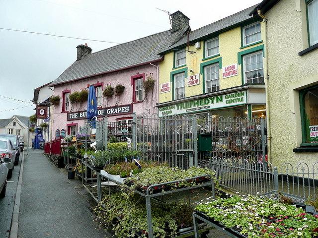 Pub and garden shop