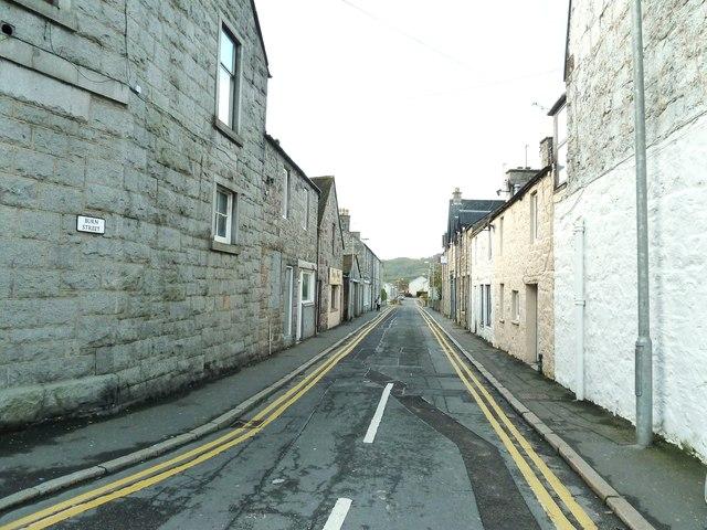 Burn Street, Dalbeattie