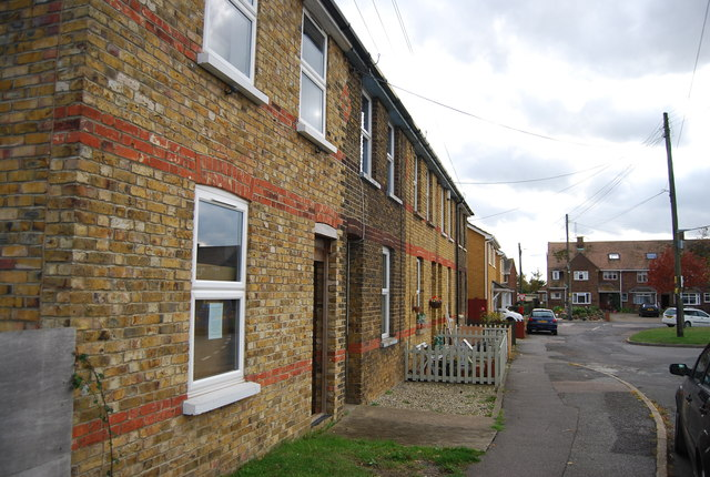Terraced houses, Middle Stoke