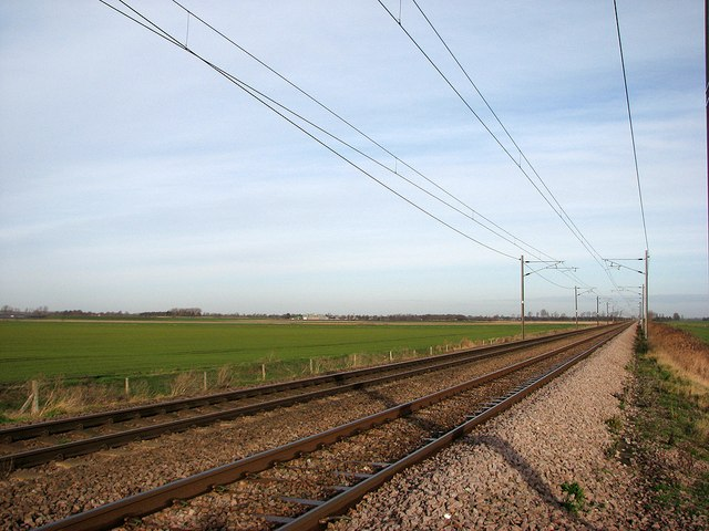 The Ely line at Adams's Crossing