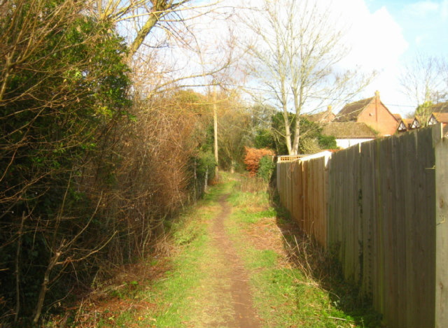 Path by Kitehill Cottages