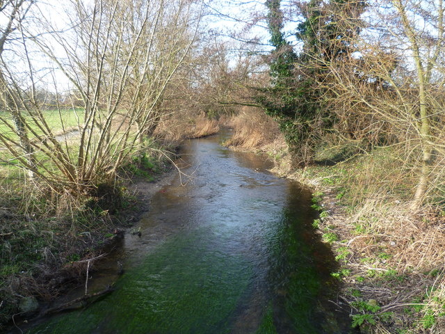 River Darent from Darent Valley Path