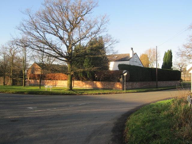 Wilmslow Road/Mill Lane junction Mottram St Andrew