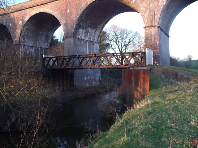 Old Bridge over the River Weaver