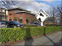 SJ7993 : City Gate by David Dixon