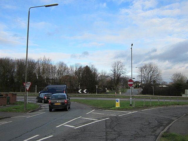 Where Victoria Avenue once crossed the A52