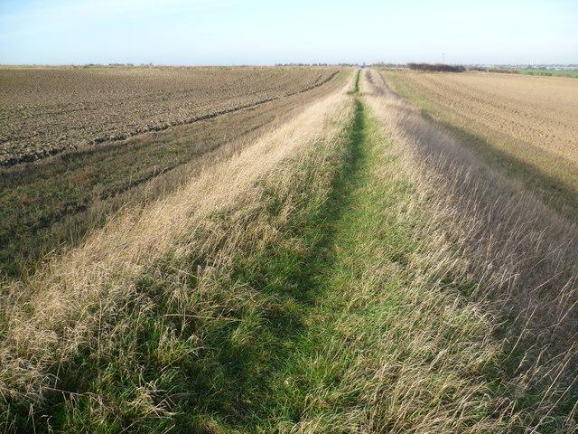 Footpath towards Ship Lane