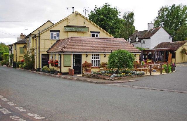Seven Stars (1), Madeley Road, Beckbury