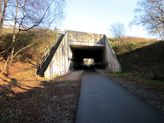 The Millennium Greenway near Hoole Village