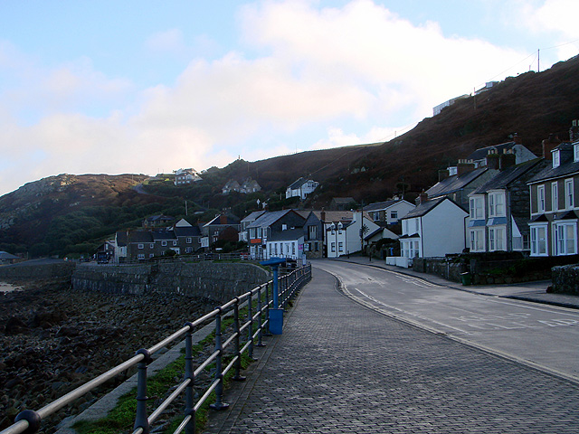 A quiet day at Sennen Cove...