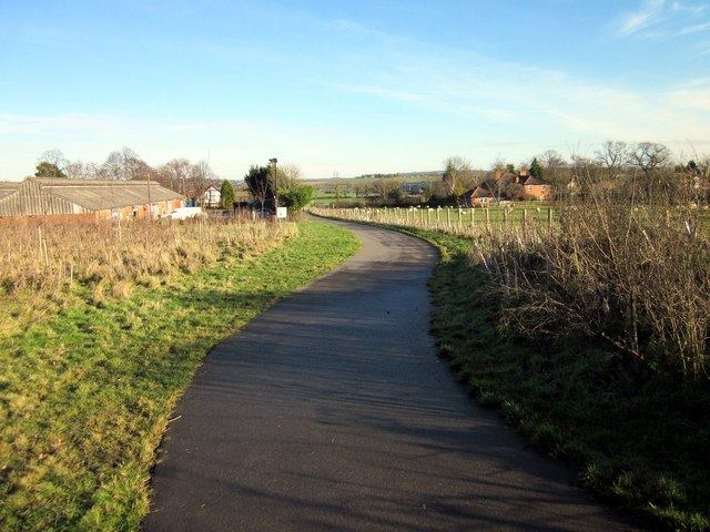 The Millennium Greenway at Mickle Trafford