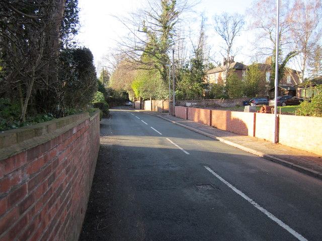 School Lane, Guilden Sutton