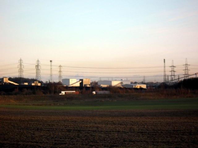 New A1M Motorway and Ferrybridge plasterboard plant