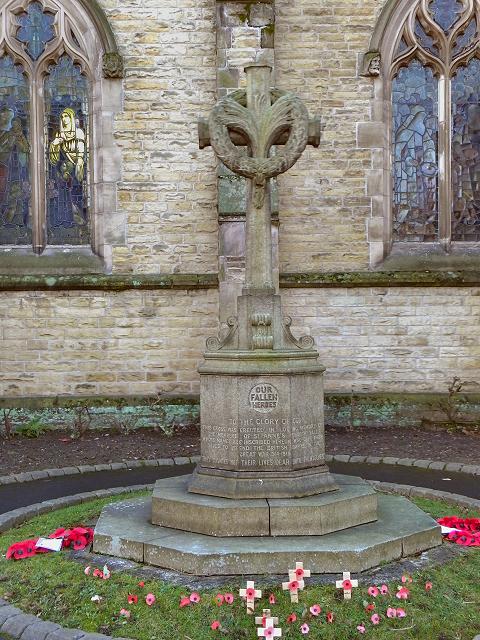 St Anne's Church War Memorial, Sale