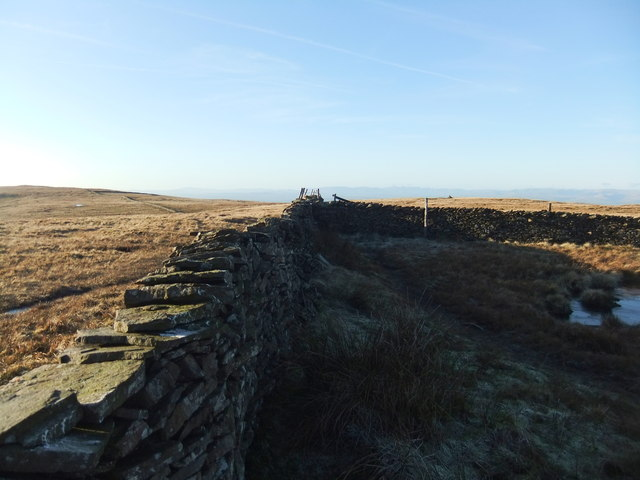 Wall corner on Great Coum