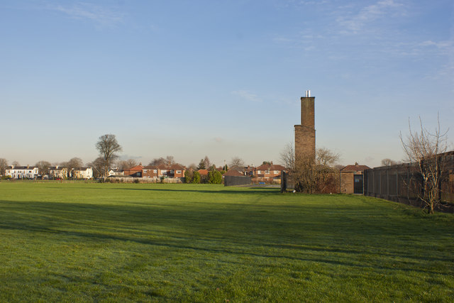 Open space by Woodlands school