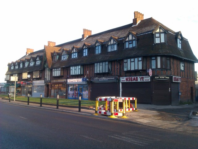 Parade of shops on Maidstone Road