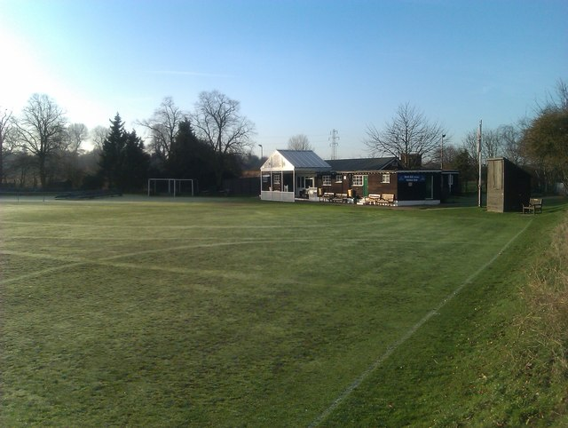 Cricket Pavilion in early sunlight