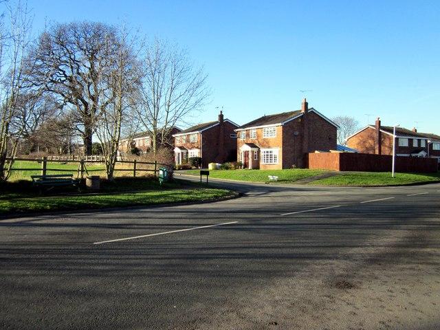 Junction of Cinder Lane and Wicker Lane
