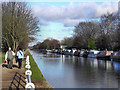 SJ7891 : Bridgewater Canal, Brooklands by David Dixon