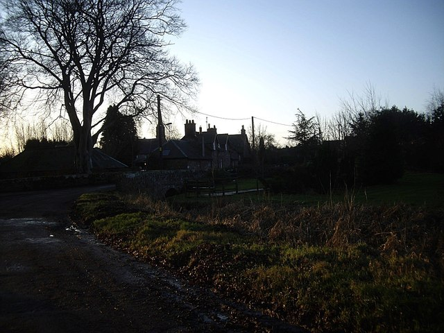 The old road into Fettercairn