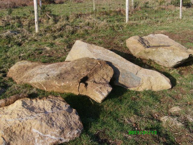 Recumbent standing stones!