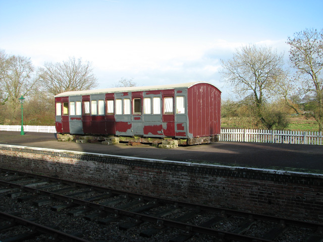 County School Station - GER 1380 4-wheel carriage (1892)
